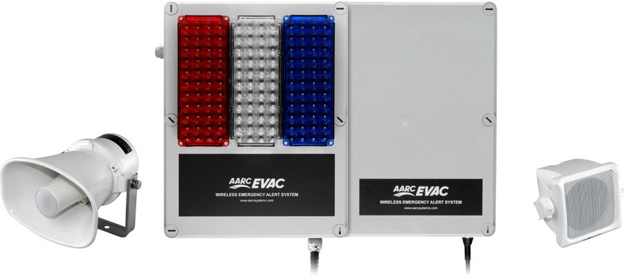 Evac Controllers with Speakers and Beacons