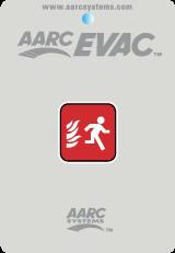 Evacuation Remote with hidden cancel button