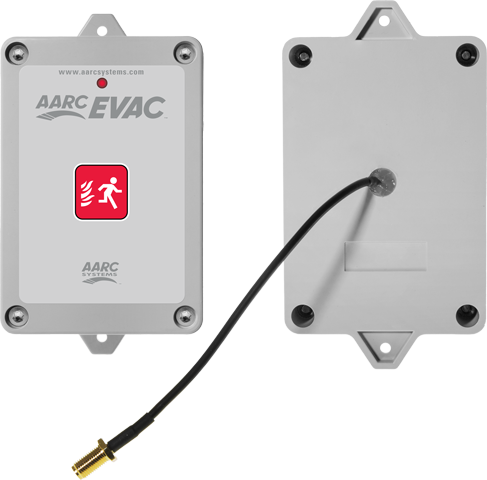 Evacuation Wall Mount Remote Transmitter with External Antenna Interface